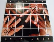 Buddy Guy Signed Album LP w/coa Blues Legend Chicago #1