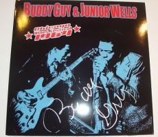 Buddy Guy Signed Album w/COA Blues Legend Chicago Proof B.B. King Blues Fest 64