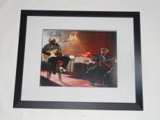 Buddy Guy Signed Framed And Matted 11x14 Photo Legend Blues W/ Bb King Proof