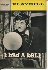 Buddy Hackett Richard Killey Karen Morrow Luba Lisa I Had A Ball Playbill