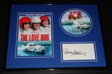 Buddy Hackett Signed Framed 11x14 Love Bug DVD & Photo Display