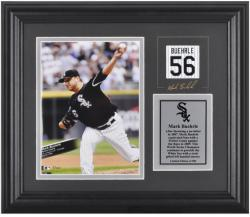 Mark Buehrle Chicago White Sox Framed 6'' x 8'' Photograph with Facsimile Signature and Plate - Mounted Memories