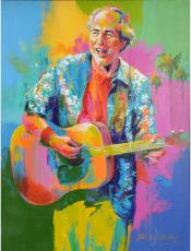 Jimmy Buffett Original Artwork