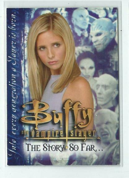Buffy The Vampire Slayer The Story So Far 2000 IKON Card # A1
