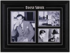 Bugsy Siegel Mug Shot Framed 3-Photograph Collage