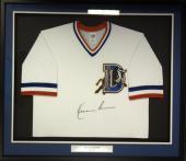 Bull Durham Kevin Costner Crash Davis Autographed Framed White Jersey Psa 101356