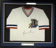 Bull Durham Kevin Costner Crash Davis Autographed Signed Framed Jersey Psa/dna