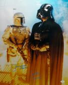 Bulloch/ Prowse Signed Star Wars 16x20 Boba Fett Darth Vader Photo- JSA Auth *Bl