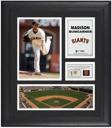 "Madison Bumgarner San Francisco Giants Framed 15"" x 17"" Collage with Game-Used Baseball"