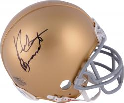 Nick Buoniconti Notre Dame Fighting Irish Autographed Riddell Mini Helmet - Mounted Memories