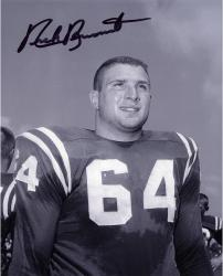 "Nick Buoniconti Notre Dame Fighting Irish Autographed 8"" x 10"" Black & White Photograph"