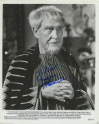 Burgess Meredith Signed Autographed Bw Clash Of The Titans Photo Rare!!!