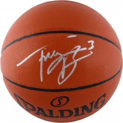 Trey Burke Utah Jazz Autographed Spalding Indoor/Outdoor Basketball