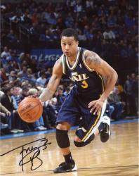 Trey Burke Autographed Photo - 8x10