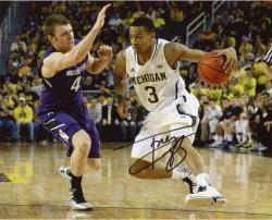 Trey Burke Signed 8x10 Photo - Michigan Wolverines