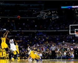 Trey Burke Autographed Michigan Wolverines 16x20 Photo - Game Winner