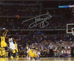 Autographed Trey Burke Michigan Wolverines Game Winner 16x20 Photo