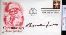 Burl Ives Jsa Coa Hand Signed Fdc Authenticated Autograph