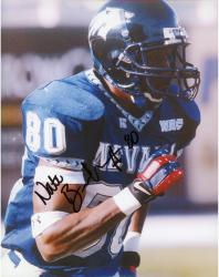 Nate Burlson Nevada Wolf Pack Autographed 8'' x 10'' Close Up Running Photograph