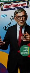 George Burns Autographed Wax Museum Pamphlets