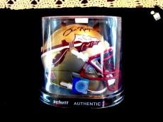 Burt Reynolds Actor Signed Auto Florida State Seminoles New Mini Helmet Steiner