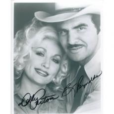 Burt Reynolds and Dolly Parton Autographed 8x10 Photo
