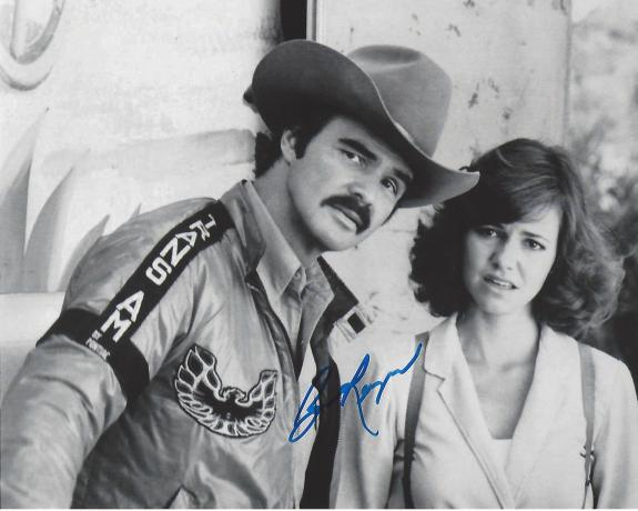 """BURT REYNOLDS  as BANDIT in """"SMOKEY and the BANDIT"""" (Passed Away 2018) Signed 10x8 B/W Photo"""