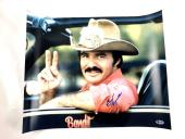 Burt Reynolds Autograph 16X20 Photo Smokey and the Bandit Picture Signed BAS COA