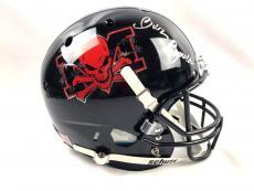 Burt Reynolds Autograph Custom The Longest Yard Full Size Helmet BAS COA Signed