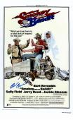 "Burt Reynolds Autographed 12"" x 18"" Smokey And The Bandit Movie Poster - Beckett COA"