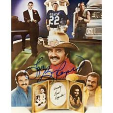 Burt Reynolds Movie Montage Autographed 8x10 Photo