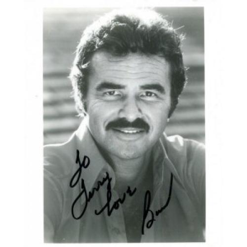 Burt Reynolds Autographed 8x10 Photo