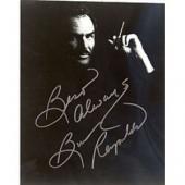 Burt Reynolds Black & White 8x10 Photo Autographed