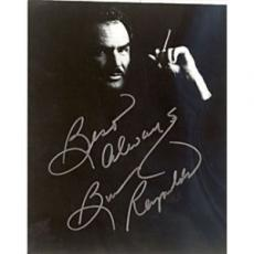 Burt Reynolds Black & White 8x10 Photo Autographed