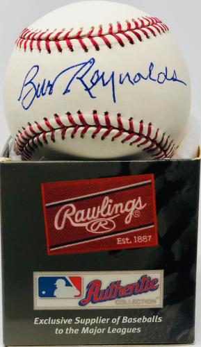 Burt Reynolds Autographed Baseball Signed - Beckett BAS Witnessed