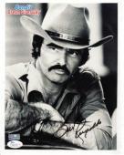 Burt Reynolds Autographed (Smokey And The Bandit) 8x10 Photo