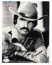Burt Reynolds Autographed (Smokey And The Bandit) 8x10 Photo