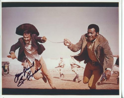 Burt Reynolds Boogie Nights Smokey The Bandit 100 Rifles Signed Autograph Photo