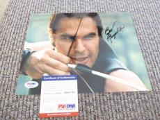 Burt Reynolds Deliverance Signed Autographed 8x10 Photo PSA Certified #1