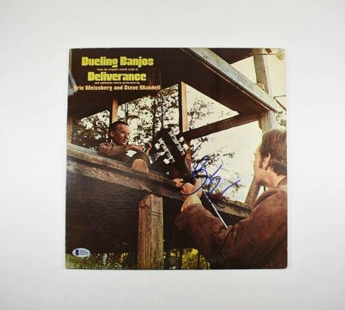 Burt Reynolds Deliverence Autographed Signed Album LP Record Authentic BAS COA