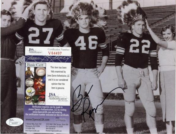 Burt Reynolds Famous Movie Actor Signed Autographed 8x10 Photo Jsa V64497