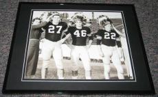 Burt Reynolds Gene Cox Buck Metts Florida State Framed 8x10 Poster Photo