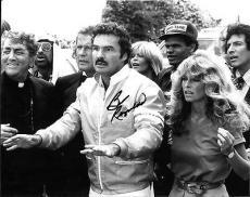 Burt Reynolds Hand Signed Autograph 8x10 Photo Farrah Fawcett Cannonball Run