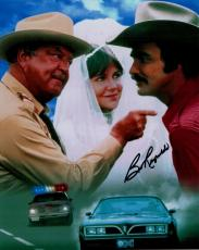 Burt Reynolds Hand Signed Autograph 8x10 Photo Pointing Smokey And The Bandit
