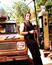 Burt Reynolds Hand Signed Autographed 8x10 Photo Leaning Against Truck W/ COA