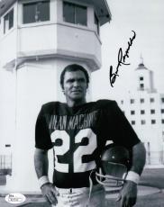 Burt Reynolds Hand Signed Autographed 8x10 Photo The Longest Yard Helmet JSA