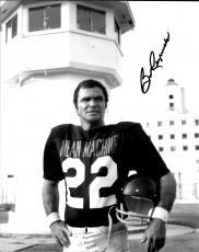 Burt Reynolds Hand Signed Autographed 8x10 Photo The Longest Yard W/ Helmet