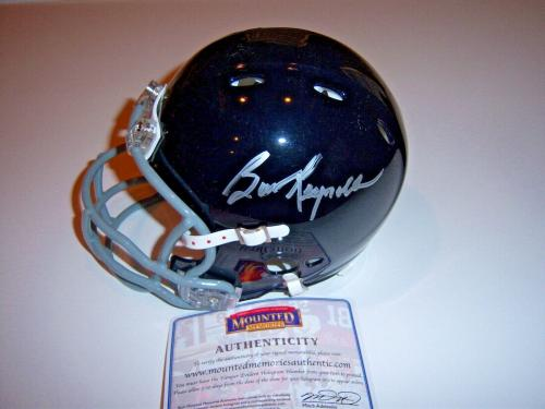 Burt Reynolds The Longest Yard Mounted Memories/coa Signed Mini Helmet