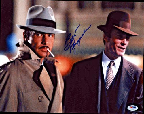 Burt Reynolds Signed 11x14 City Heat Photo -  w/ Clint Eastwood PSA/DNA 2