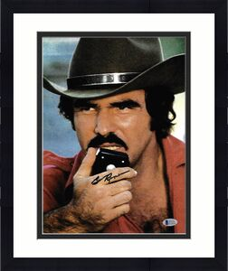 Burt Reynolds Signed 11x14 Smokey and the Bandit Photo -  On Radio Beckett BAS